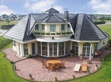 Fertighaus villa mit pool  Massivhäuser & Villen planen und bauen mit Stilhaus