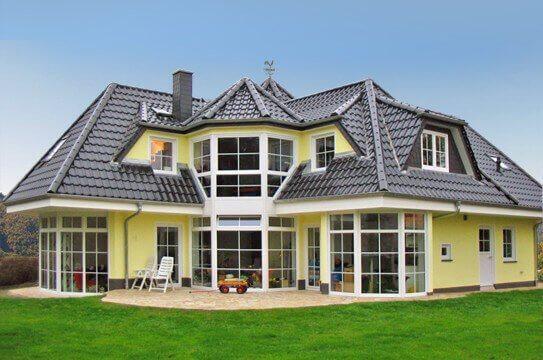 Moderner Hausbau hausbau massiv schlüsselfertig oder in freier planung
