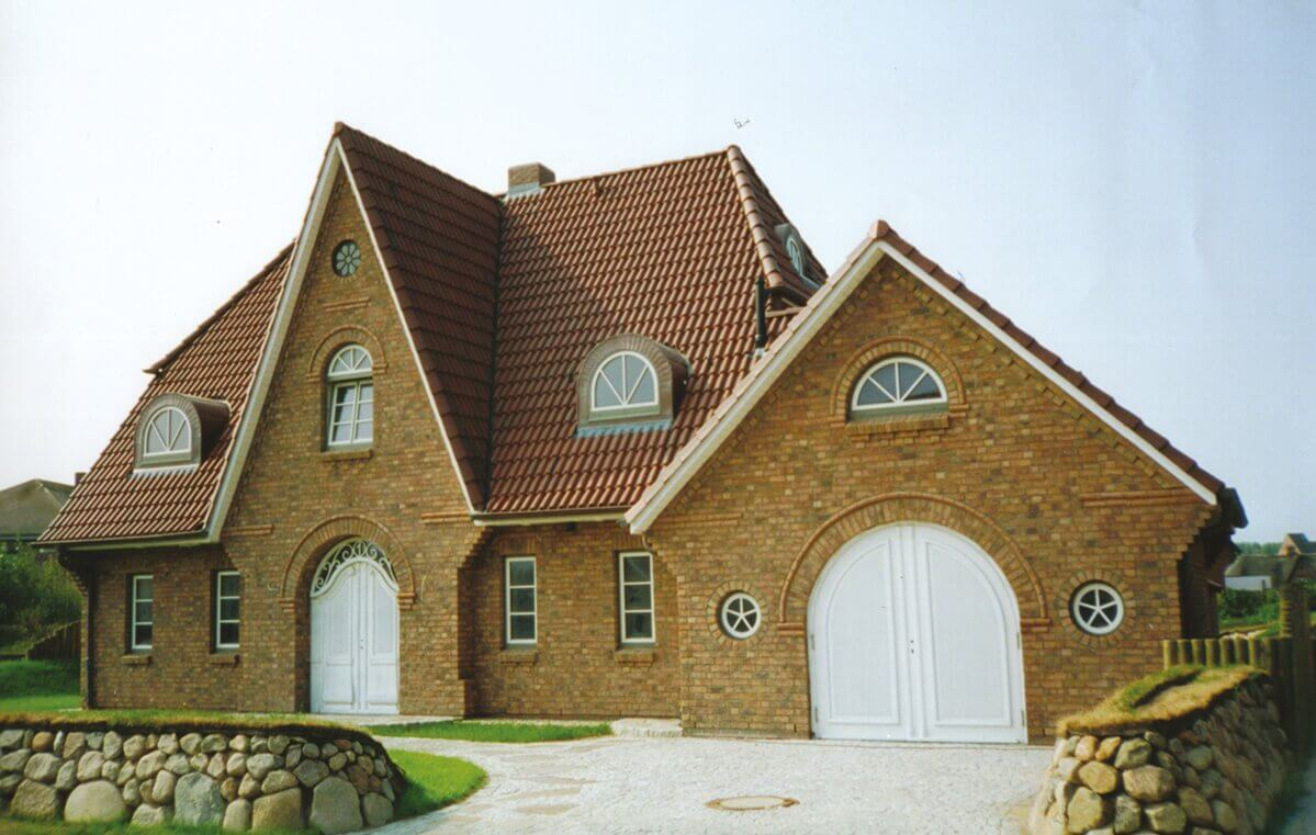 Schöne massive Häuser schlüsselfertig bauen