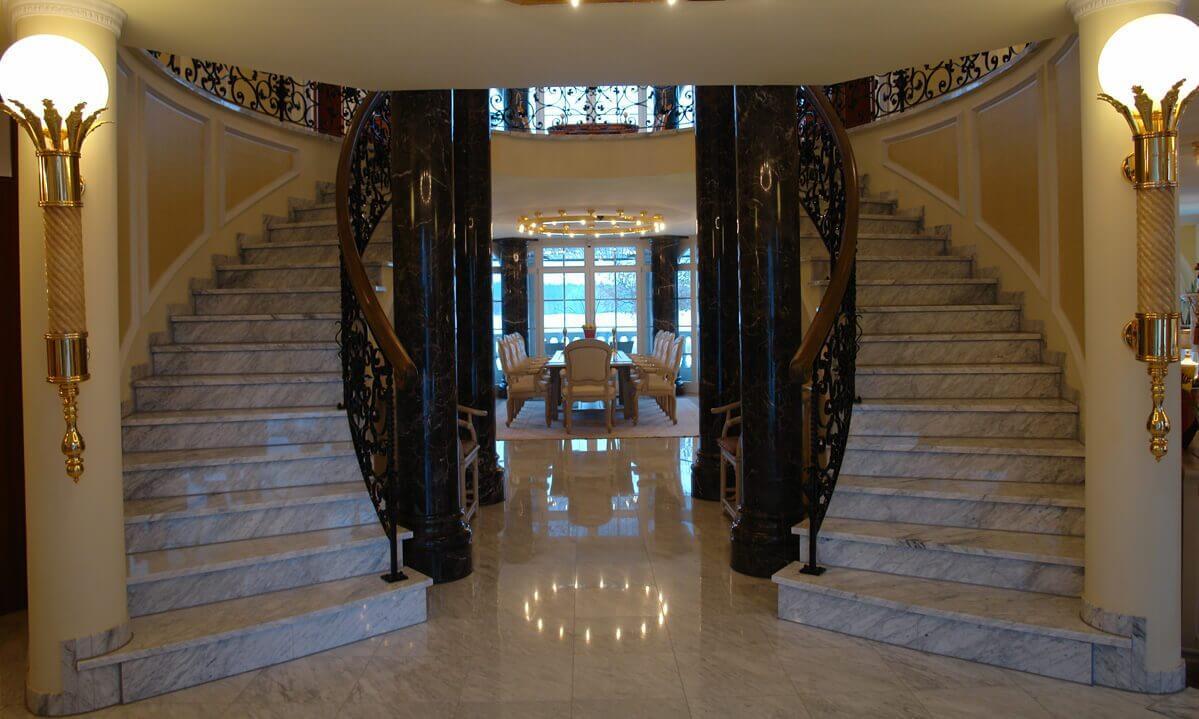 Individuelle treppe frei gestallten schöne grundsolide häuser