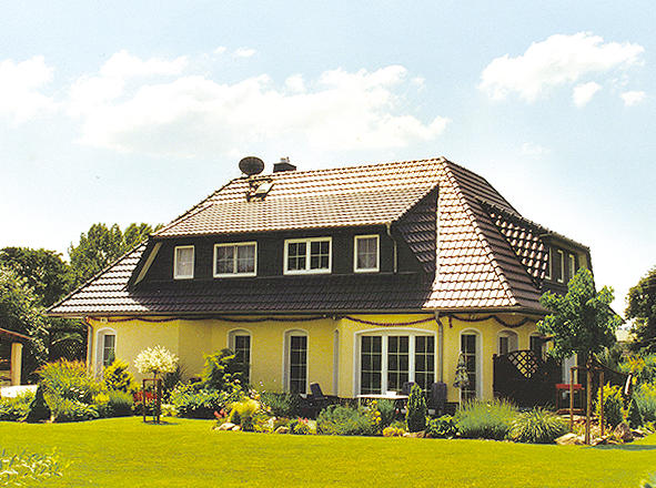 Haus bauen mansarddach häuser hausbau berlin schöne häuser bauen