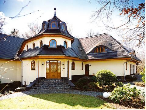 Land haus villa bauen villen im landhaus stil villen in for Villen bauen